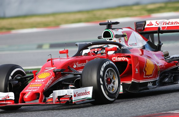 Motor Racing - Formula One Testing - Test Two - Day 3 -  Barcelona, Spain