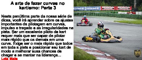 A arte de curvas no kartismo Parte 3
