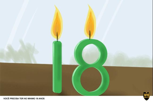 18 ANOS DE IDADE