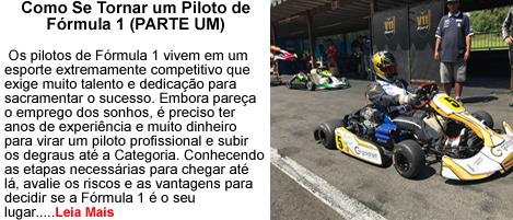 Piloto de Formula um parte 1