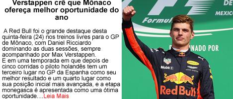 Verstappen GP Monaco