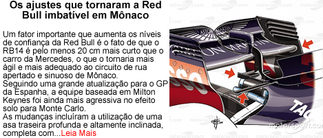 RedBull em Monaco