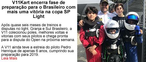 V11Kart Encerra fase de Preparacao para Brasileiro