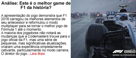 Este e o melhor game de F1 da historia