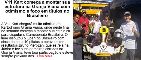 V11kart comeca a montar estrutura para o brasileiro