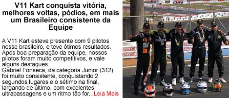 V11Kart conquista vitorias no Brasileiro