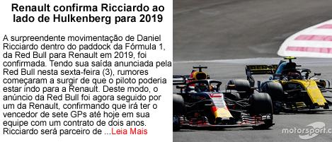 RedBull confirma Ricciardo para 2019