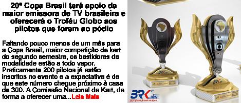 20 Copa do Brasil terá apoio da TV Globo