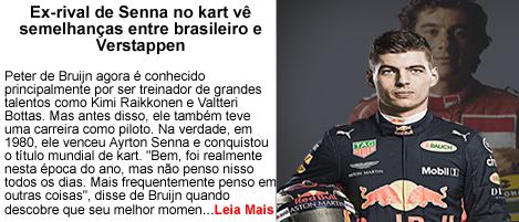 Ex Rival de Senna ve Semelhancas com Verstappen