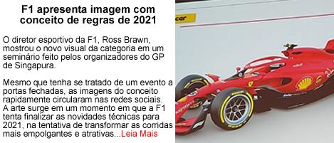 F1 Apresenta Conceito para 2021