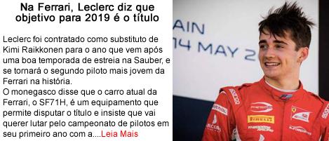 Leclerc diz que objetivo de 2019 e titulo.fw