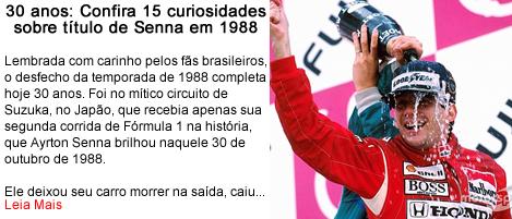 30 anos confira 15 curiosidades sobre o titulo de Senna.fw