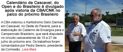 Calendario de cascavel do open e do brasileiro.fw