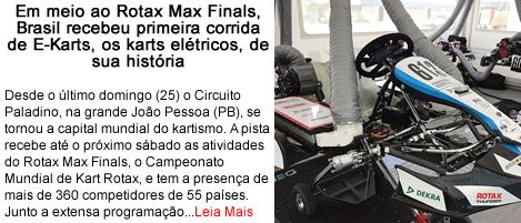 RotaxMaxFinals Brasil recebe primeira corrida de Ekarts.fw