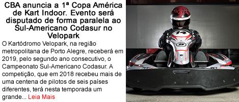 CBA anuncia primeira copa america de kart indoor.fw